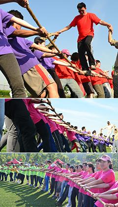 動力繩圈是一項團隊合作類項目