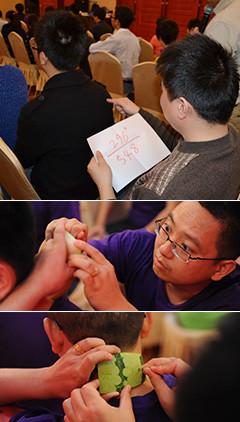 驿站传书是一项培养学员默契度与合作能力的项目