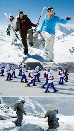 極地求生是一項團隊合作類項目