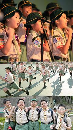 众基童子军是一项团队合作类项目