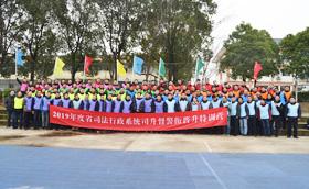 2019年度省司法行政系统司升督警衔晋升特训营