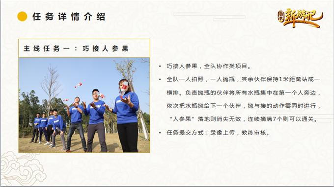新游记 拓展训练项目:新游记,上海众基团建