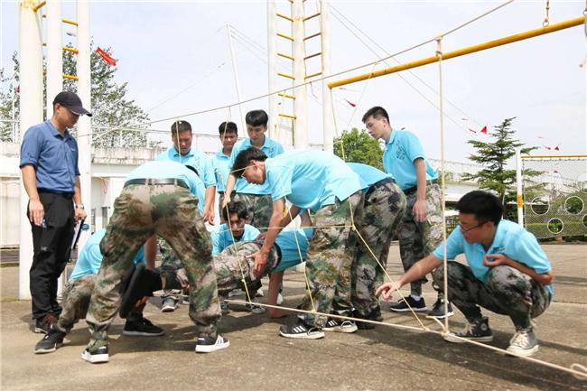 上海拓展培训活动项目:电网穿越 