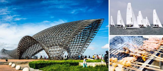 上海高端团建活动滴水湖帆船竞赛,一日团建活动,众基高端团建公司|