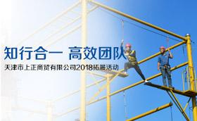 天津市上正商贸有限公司2018拓展活动